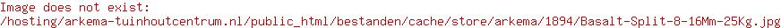 Basalt Split 8-16Mm 25Kg